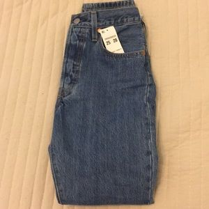 501 Levi's High Rise Jeans